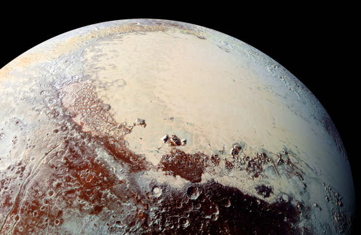 Pluto image taken by New Horizons probe. Credit: NASA/JHUAPL/SwRI