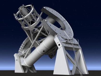 Hale Telescope by Nick Stevens