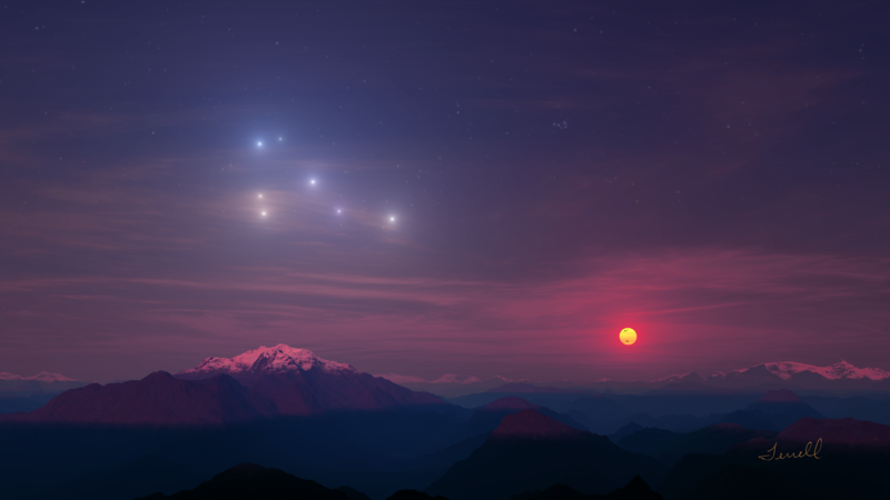 astronomy sunrise sunset - photo #11