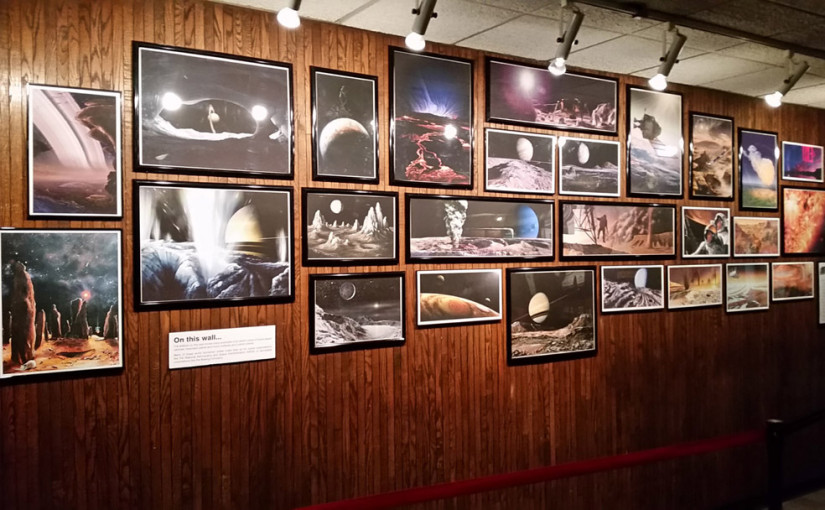 Space Art exhibit in Vancouver