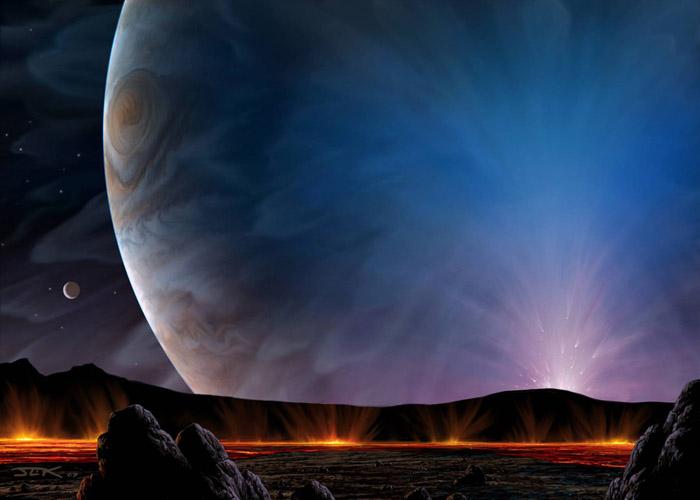 Io Plume by John Kaufman