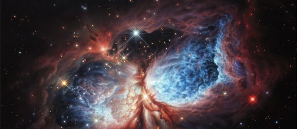 The Brush Strokes of Star Birth by Lucy West
