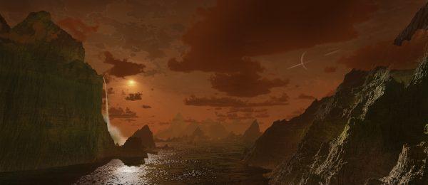 The Cliffs of Titan
