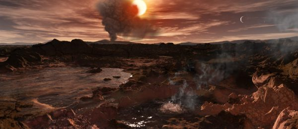 Geothermal activity on TRAPPIST-1 c
