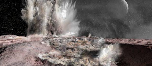 Mud volcano on Pluto.