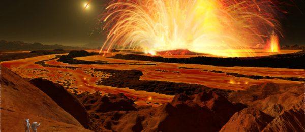 An Eruption on Io