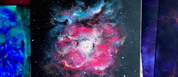 Inspiring by Trifid nebula