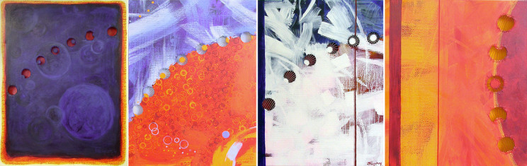 Eclipse Series by Bettina Forget