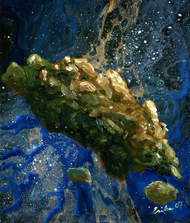 Asteroid by Erika McGinnis