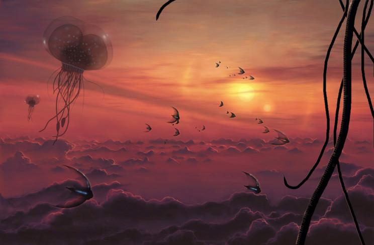 Aquarium Cloudscape by Mark Garlick, FIAAA