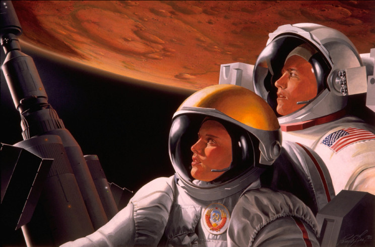 Together to Mars by Pam Lee, FIAAA